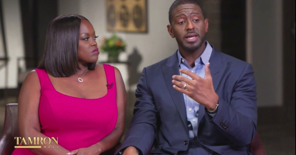 Andrew Gillum on Tamron Hall show