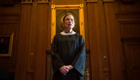 Supreme Court Justice Ruth Bader Ginsburg...