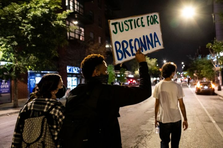 Protests Erupt Across U.S. After Charges In Death Of Breonna Taylor Are Announced