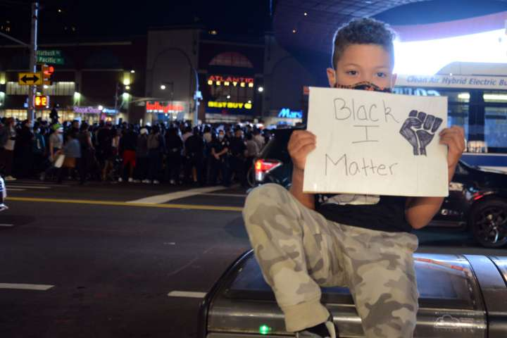 Protest Against Breonna Taylor Charges In New York