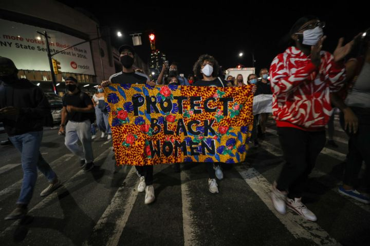 Thousands of Breonna Taylor protestors marched in NYC