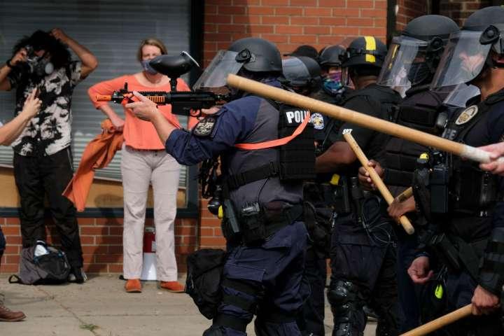 US-POLICE-SHOOTING-RACISM-BREONNA