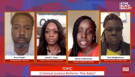 The Black Ballot Criminal Justice Reform panel discussion