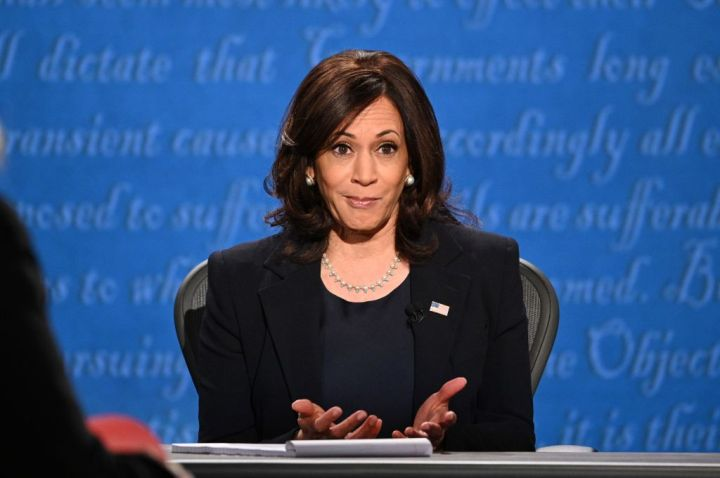 Kamala Harris Debating Mike Pence