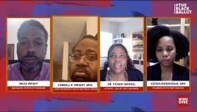 The Black Ballot health panel