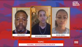 The Black Ballot 10/14 FB live panel