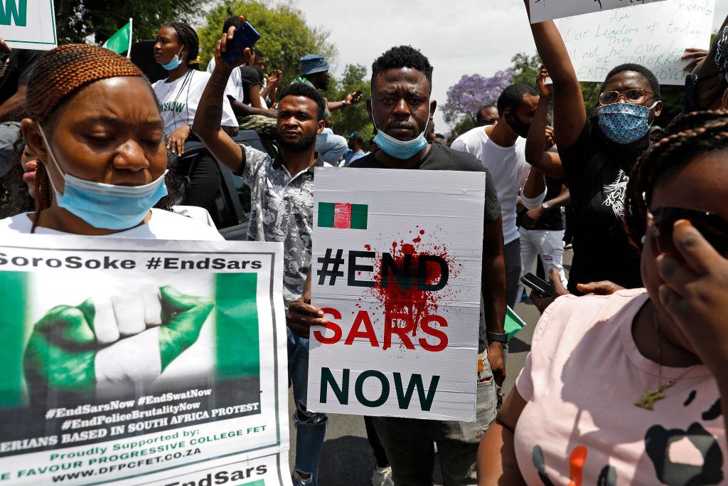 SAFRICA-NIGERIA-DEMO-CRIME-POLICE