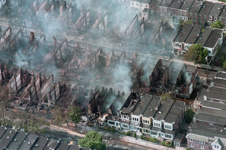 1985: The MOVE Philadelphia bombing
