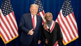 Lil Wayne x Donald Trump