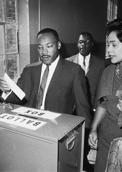 Dr. Martin L. King Voting