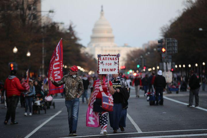 'Million MAGA March' for Trump in Washington DC