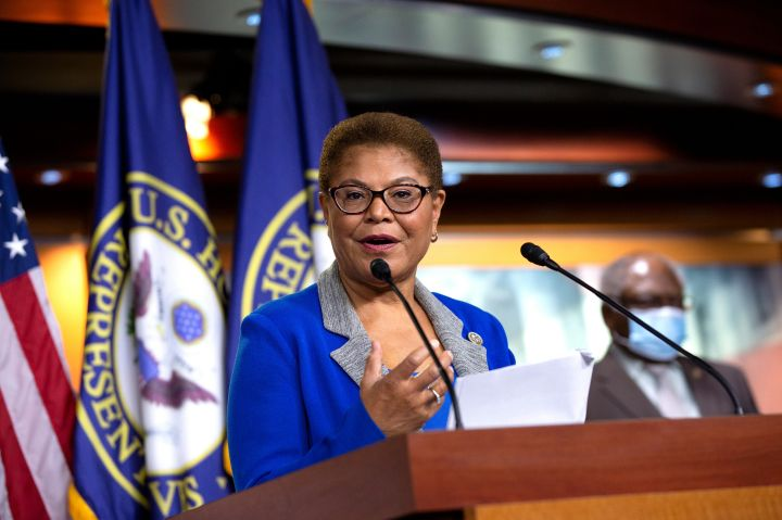 Rep. Karen Bass, HUD, HHS