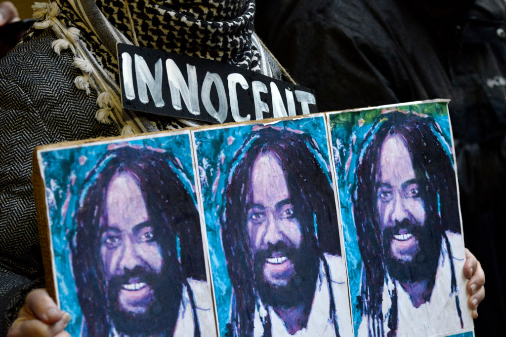 Free Mumia Rally Outisde Office Of Philadelphia District