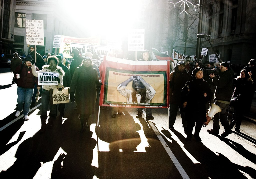 Rally Marks 25th Anniversary Of Mumia Abu-Jamal's Controversial Imprisonment