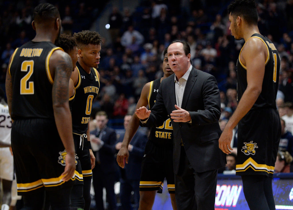 COLLEGE BASKETBALL: JAN 12 Wichita State at UConn