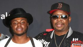 Bobby Brown Jr. and his father
