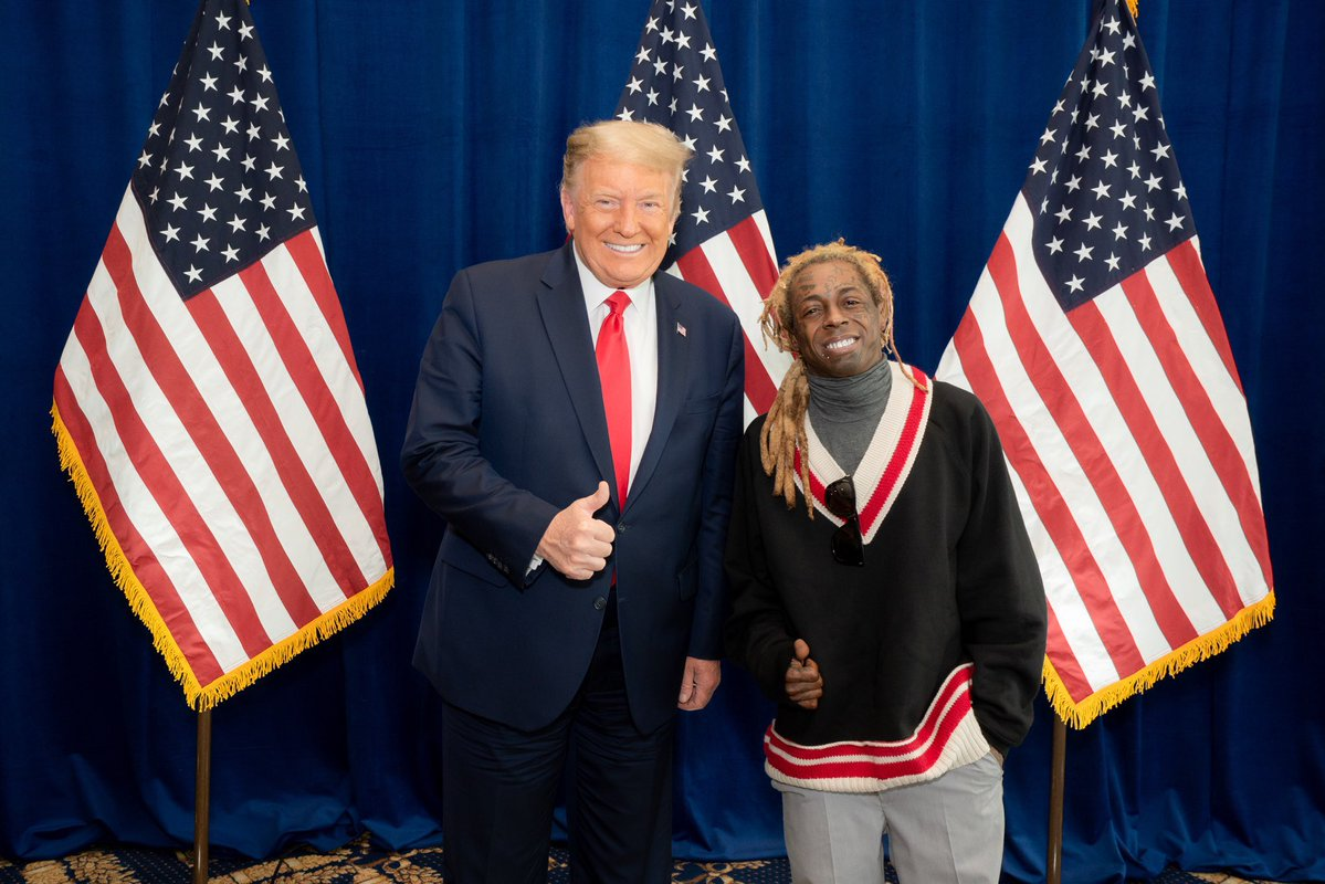 People Think Lil Wayne Is Dropping New Music To Distract From His Trump Endorsement