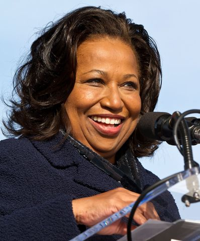 USA - Politics - Chicago Mayoral Candidate Carol Moseley Braun