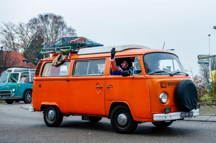 A Different St. Nicholas Arrival On A Bus Tour To Boxtel