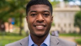 Noah Harris is the first Black man to be president of Harvard University's Undergraduate Council elected by the school's student body.