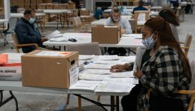 Georgia Election Officials Continue Ballot Counting