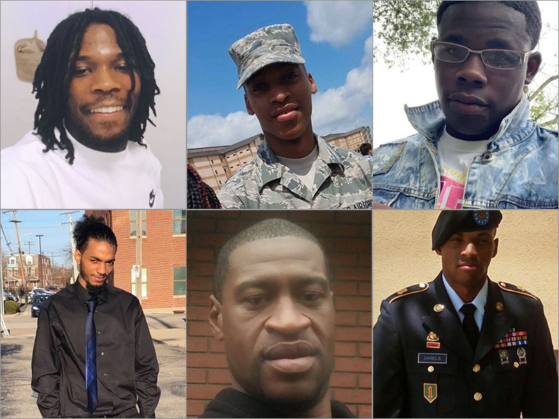 Black Men And Boys Killed By Police Newsone