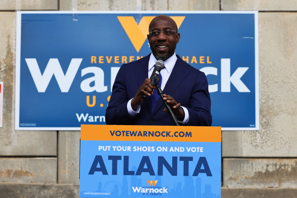 Raphael Warnock Beats Kelly Loeffler To Become Georgia's First Black US Senator