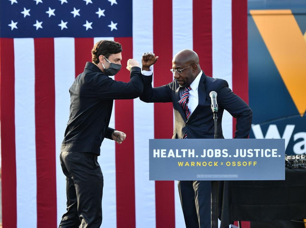 Ossoff, Warnock Claim Victory In Georgia Senate Races As A Rebuke To Trump