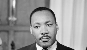 American activist Martin Luther King
