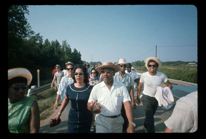 Kings Marching in Rural Mississippi