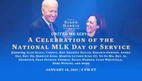 United We Serve: A Celebration of the National Martin Luther King Day of Service