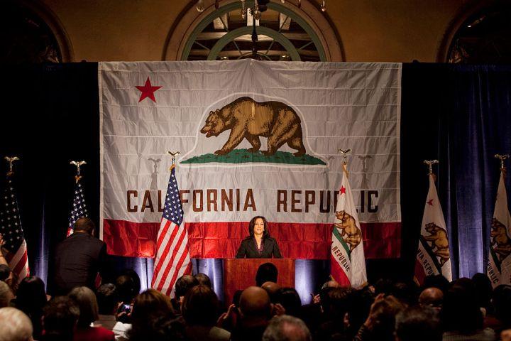 USA - Politics - California Attorney General-Elect Kamala Harris