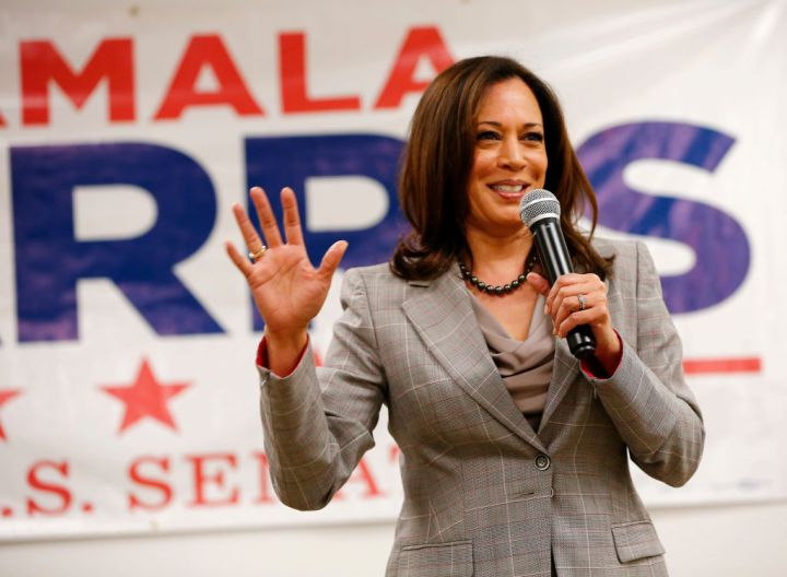 2016: Kamala Harris Becomes A U.S. Senator