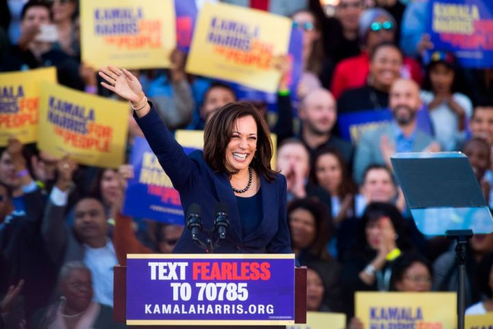 2019: Harris Launches Her Presidential Campaign