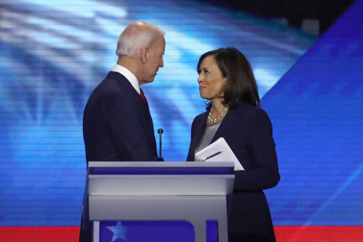 2020: Kamala Harris Endorses Joe Biden For President