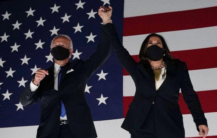 Joe Biden and Kamala Harris Win The 2020 Election
