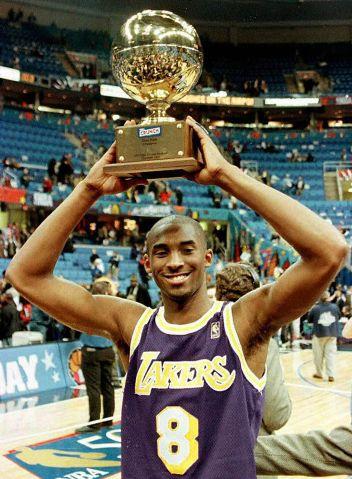 This 08 February, 1997, file photo shows Kobe Brya