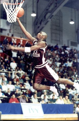 Kobe Bryant During High School Game In Philadelphia