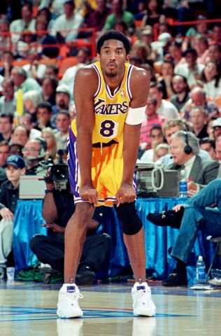 Los Angeles Lakers Kobe Bryant 1998 NBA Playoffs