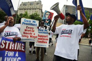 Low income strike