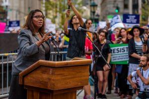 New York City Public Advocate Letitia James - In response to...