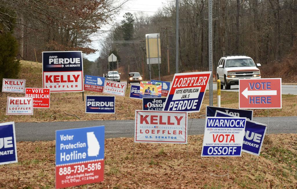 Georgia Voters Go The Polls In Senate Races