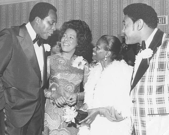 Cicely Tyson And Vernon Jordan