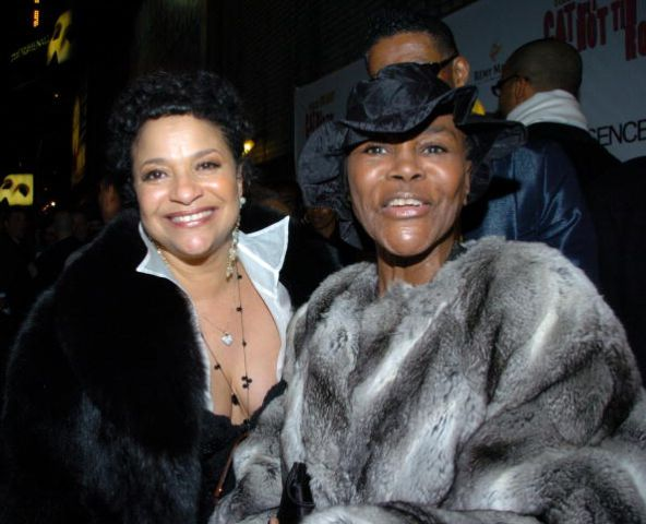 Debbie Allen (Producer) and Cicely Tyson arrive at the Broad
