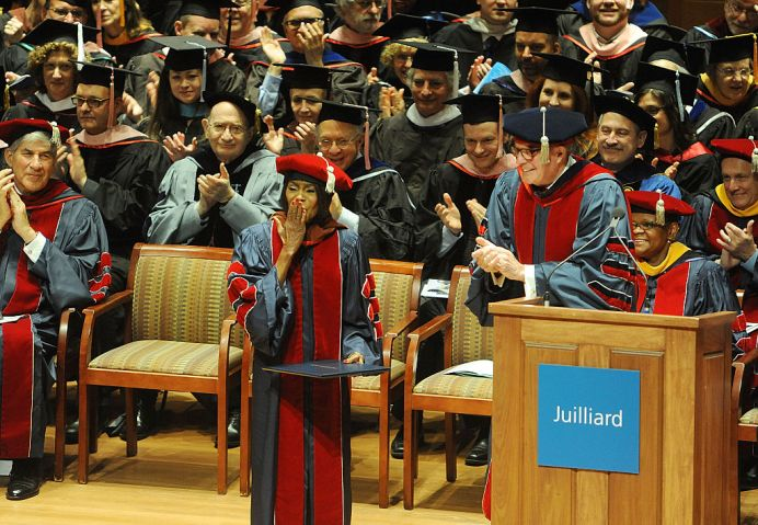 The Juilliard School Holds 111th Commencement Ceremony