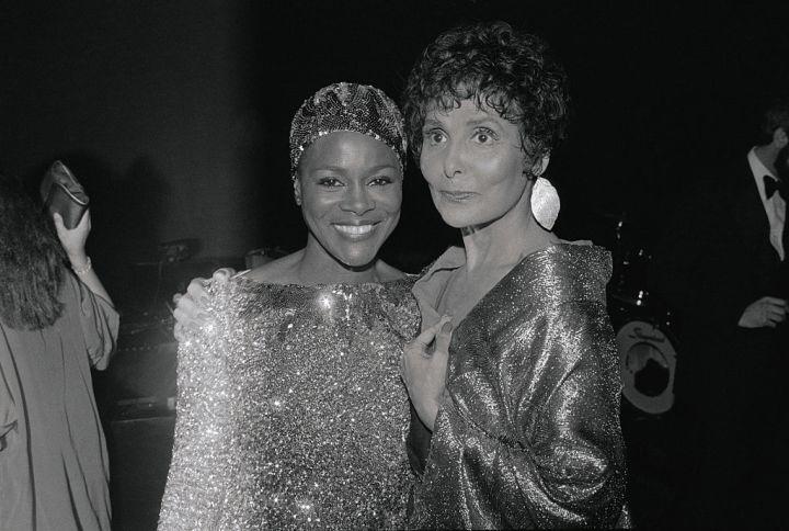 Lena Horne and Cicely Tyson