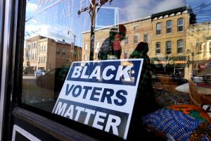Wisconsin Voters Go To The Polls On The Last Day Of Early Voting
