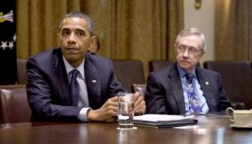 DC: Obama Holds Bi-Partisan Meeting With Congressional Leaders