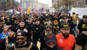 """Demonstrators Participate In """"Million MAGA March"""""""