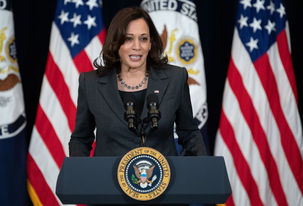KAMALA HARRIS - cover
